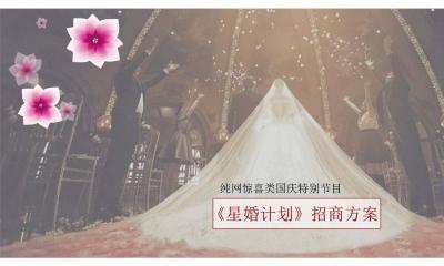 相亲节目《星婚计划》婚礼惊喜真人秀节目招商合作策划方案