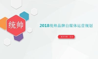 家电行业海尔集团旗下-2018年统帅品牌自媒体运营规划方案