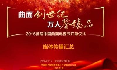 首届中国曲面电视节开幕仪式媒体传播汇总推广方案