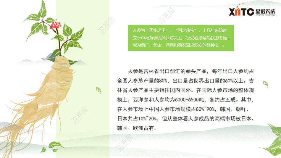 保健产品品牌-人参推广商业企划策划方案
