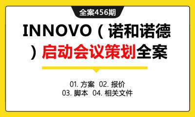 全案456期 医药健康品牌INNOVO(诺和诺德)启动会议策划全案(包含方案 +报价 +脚本+相关文件)