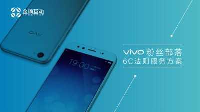 智能手机行业品牌-vivo粉丝部落6C运营服务营销策划方案