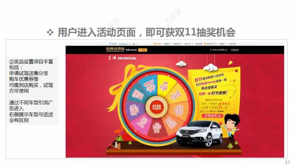 汽车品牌-东风思域联合淘宝天猫购物季主题活动策划方案
