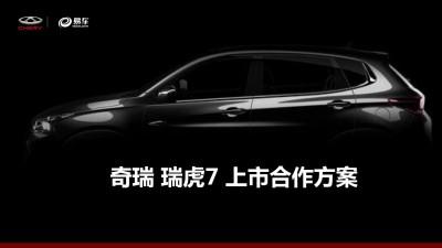 汽车服务平台易车和瑞虎7上市合作传播推广方案
