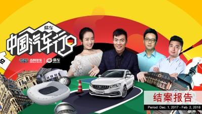 汽车媒体平台易车网中国汽车行第一季结案报告策划方案