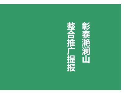 房地产品牌-彰泰滟澜山整合品牌推广方案