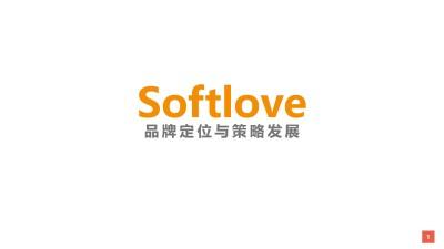 国际母婴品牌-Softlove所爱优品品牌定位与策略发展沟通推广方案