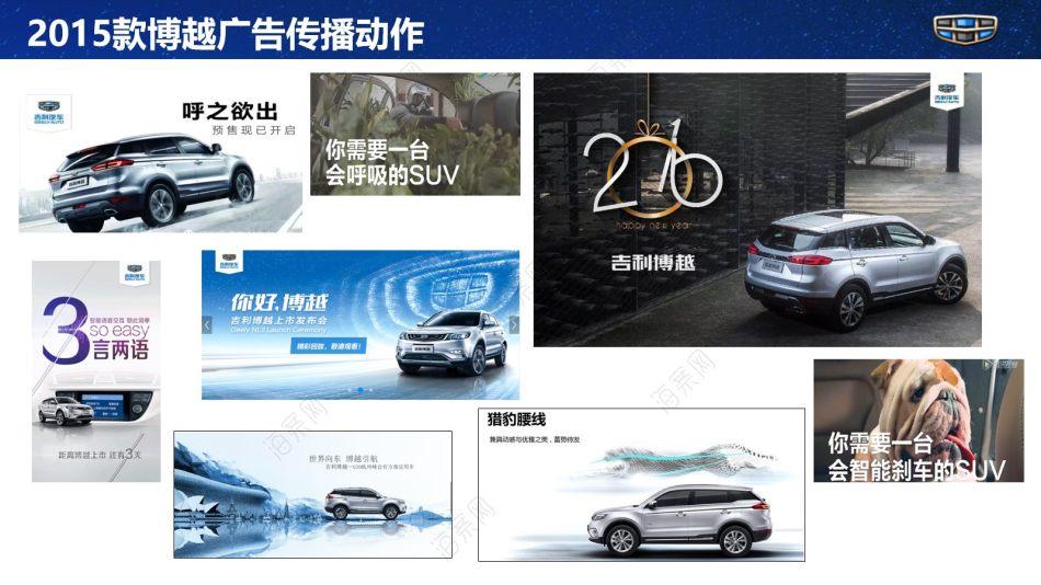 汽车品牌-吉利B平台汽车品牌及产品发展思路探索推广方案