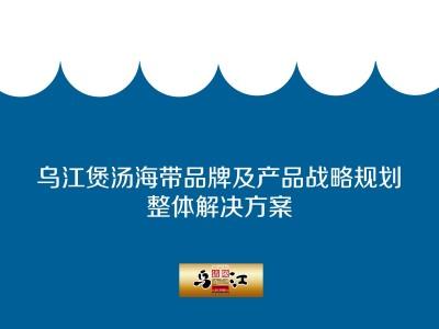 榨菜生产经营企业-乌江煲汤海带品牌及产品战略规划推广方案