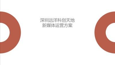 地产远洋深圳科创天地新媒体年度运营自媒体策划方案