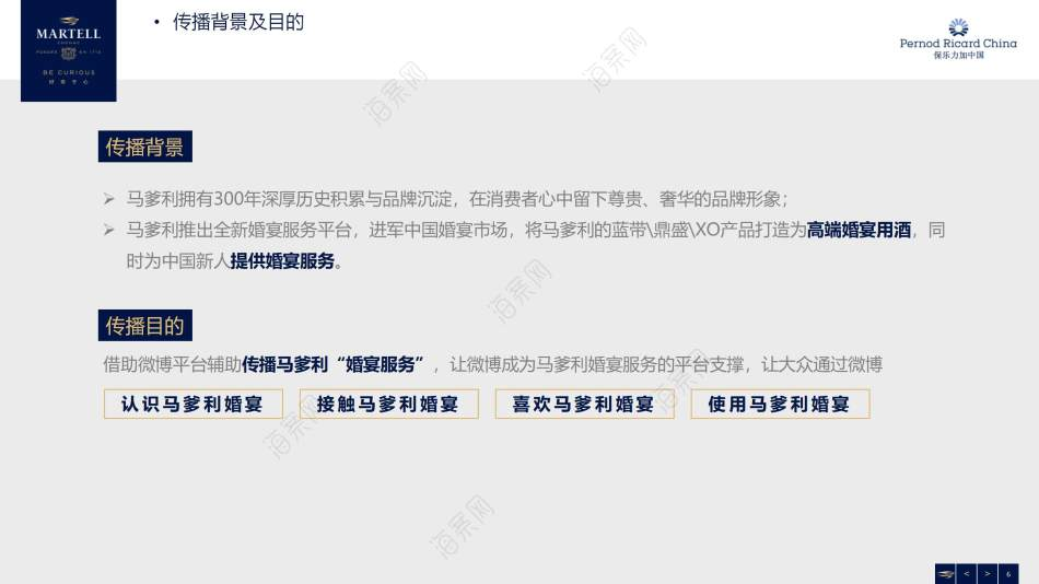 马爹利婚宴微博媒体运营规划营销策划方案