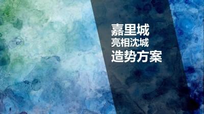 商业地产嘉里城网红街亮相沈城造势策划方案