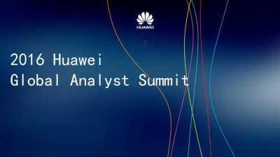 科技品牌华为Huawei Analyst Summit发布会线下执行活动策划方案
