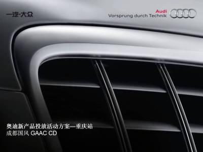 汽车品牌奥迪新产品投放活动方案