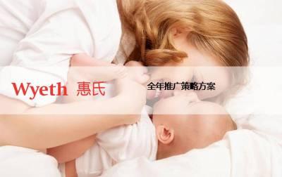 母婴品牌惠氏全年推广营销策略方案