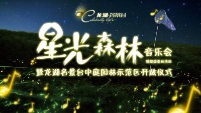 房地产名景台星光森林音乐会暨中庭园林示范区开放仪式策划方案
