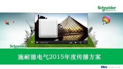 电器品牌施耐德电气年度合作传播推广方案