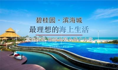 碧桂园滨海城最理想的海上生活掌控传媒新媒体推广方案