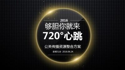 综艺节目720°心跳公关传播资源整合策划方案