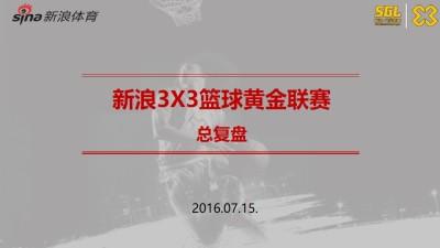 互联网新浪3X3篮球黄金联赛复盘结案策划方案