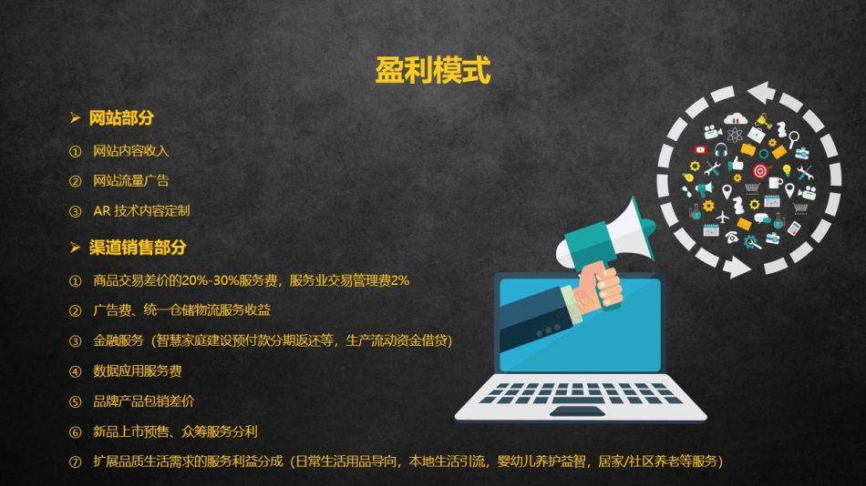 智能硬件互动平台威腾网商业策划书方案