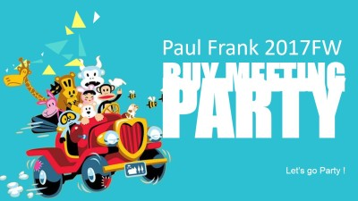 Paul Frank FW Buying Meeting活动策划方案