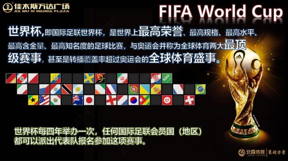 商业地产佳木斯万达广场巴西世界杯主题活动方案