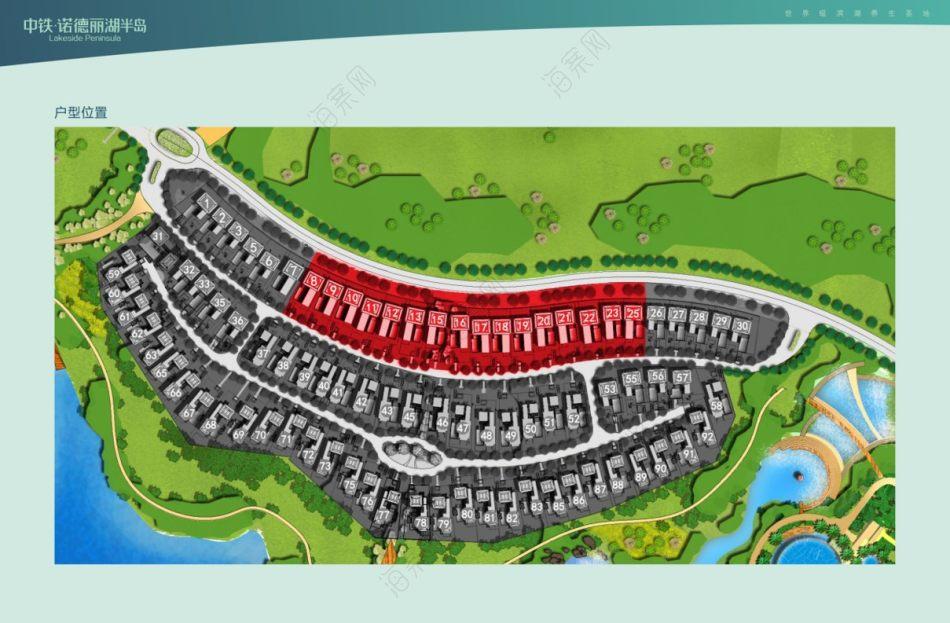 房地产行业中铁·诺德丽湖半岛-项目介绍-推介会策划方案