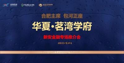 房地产行业华夏•茗湾学府 新安金融专场推介会方案