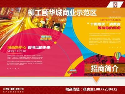 商业地产行业柳工颐华城商业示范区招商手册策划方案