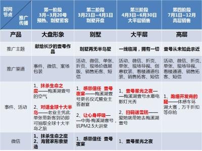 房地产品牌长沙梅溪湖壹号项目传播策划方案