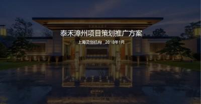 房地产项目泰禾漳州项目策划推广方案