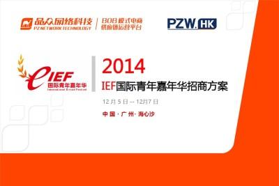 数字娱乐与数字体育综合赛事品牌IEF国际青年嘉年华招商策划方案