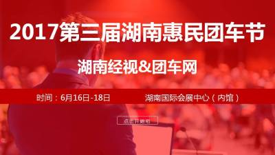 汽车品牌第三届湖南惠民团车节招商手册商业策划方案
