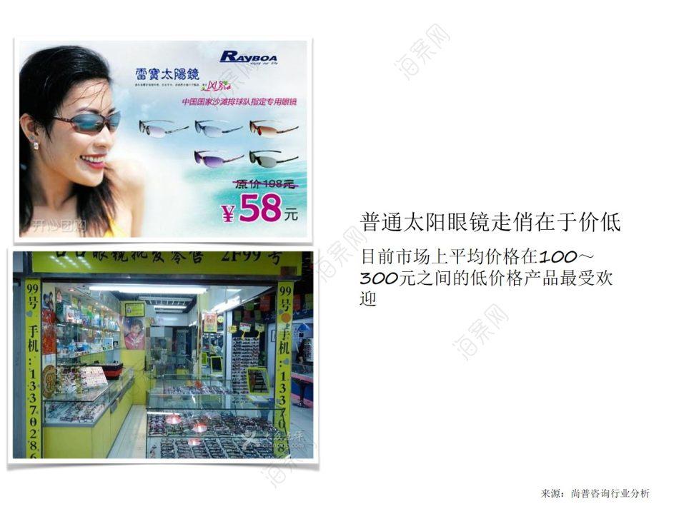太阳眼镜品牌帕莎品牌定位及市场营销策划推广方案