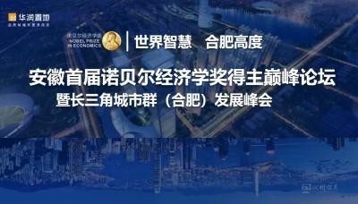 安徽首届诺贝尔经济学奖得主巅峰论坛暨长三角城市群(合肥)发展峰会活动策划方案