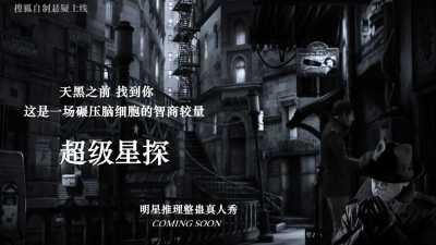 综合视频网站搜狐视频自制综艺《超级星探》明星推理整蛊真人秀招商策划方案