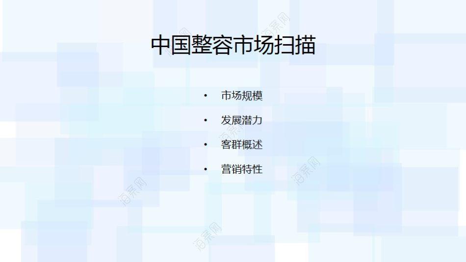 医疗美容整形行业艺星独立公号运营提案方案【66P】