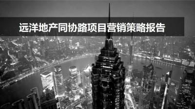 房地产品牌远洋地产同协路项目营销策略报告方案【138P】