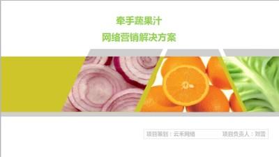 蔬果品牌牵手果蔬汁新媒体营销规划方案【50P】