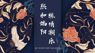 """2020地产项目端午节国潮风""""熙和端阳 粽情潮乐""""活动策划方案39p"""