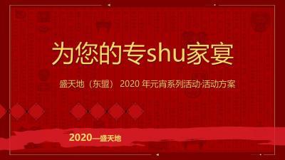 2020商业广场元宵系列(为您的专shu家宴主题)活动策划方案-41P