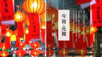 2021地产项目新春元宵花灯游园庙会(千灯万福 今宵元宵)主题活动策划方案-52P