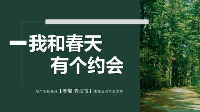 2020地产项目月度系列(春趣·森活馆主题)活动策划方案-27P