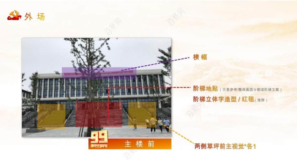 2020河庄街道纪念建党99周年大会活动策划方案-41P