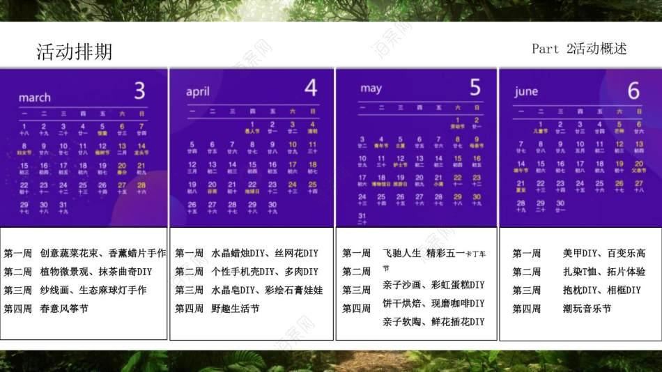 2021地产项目春季3-6月系列(春始万物生主题)活动策划方案-104P