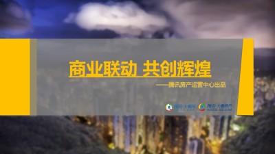 敏捷萝岗双盘与腾讯大粤网联动电商服务报告策划方案【31P】