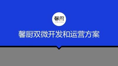 家用电器品牌馨厨冰箱双微开发和运营新媒体营销方案【119P】