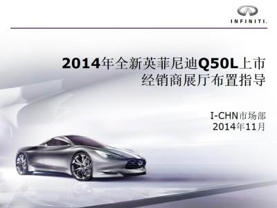 汽车品牌全新英菲尼迪Q50L上市经销商展厅布置推广方案【45P】