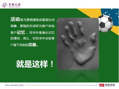 房地产品牌宝珊花园与世界杯系列周末暖场活动策划方案【27P】